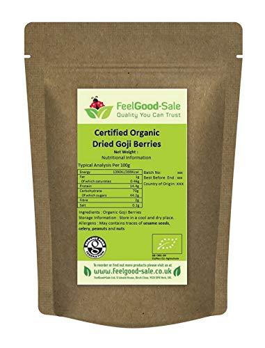 1kg Organic Goji Berries Certified Dried Berry No Additives
