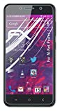 atFoliX Lámina Protectora de plástico Cristal Compatible con M-Net Power 1 Película Vidrio, 9H Hybrid-Glass FX...