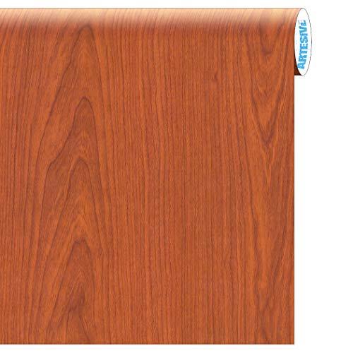 Artesive WD-053 Ciliegio Medio larg. 60 cm AL METRO LINEARE - Pellicola Adesiva in vinile effetto legno per interni per rinnovare mobili, porte e oggetti di casa