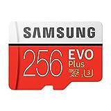Tarjeta de memoria Samsung 256 GB Micro SD 100 MB/S EVO+ Plus Class10 TF/SD Micro Card UHS-1 U3 tarjeta de memoria con adaptador