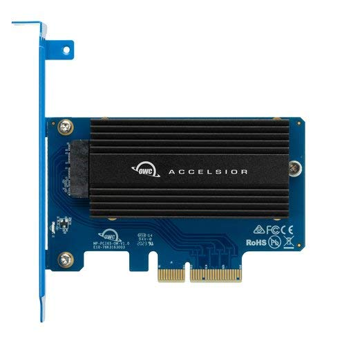 OWC Accelsior 1A PCIe NVMe Flash SSD to PCIe Adapter Card