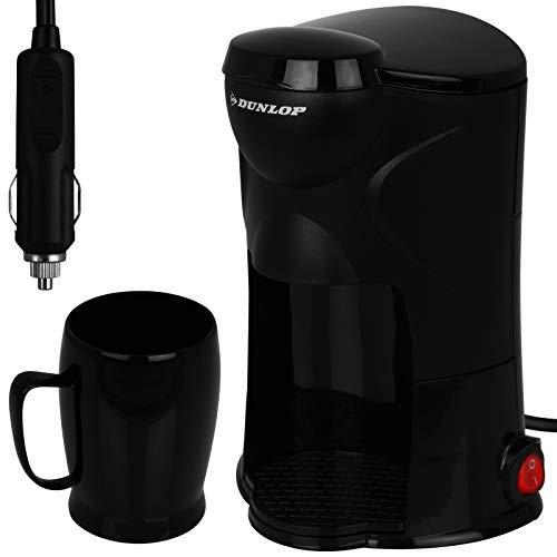 Dunlop - Kaffeemaschine - Kaffee - Kaffe to go - Auto 12V - LKW 24V - für 1 Tasse - mit Modellwahl (1 Tasse 24V)