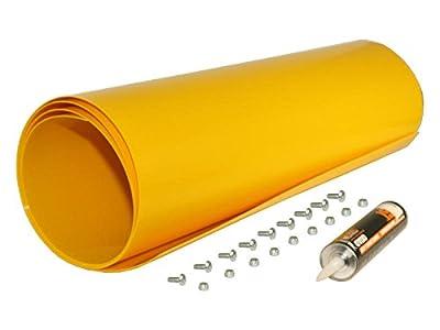 Yellow Poly Snow Plow Shield
