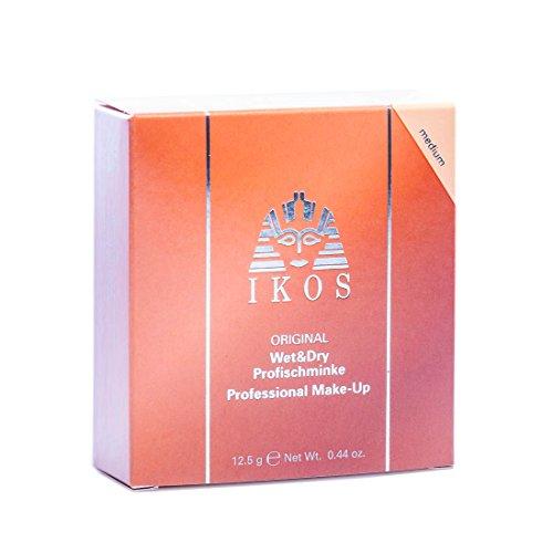 IKOS Wet & Dry Profischminke, medium, 1er Pack (1 x 12.5 g)