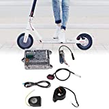 Kit de Controlador para XIAOMI Scooter, Placa Base + Placa de Bluetooth + Faro + Luz de Cola + Acelerador + Cable Kit de Reparación para Xiaomi Ninebot M365 Scooter Patinete Accesorios