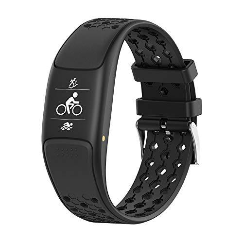 LHTCZZB Pulsera inteligente a prueba de agua Pantalla táctil completa Reloj Bluetooth Gestión de la aptitud Gestión de la aptitud Monitoreo de la ritmo cardíaco Modo deportivo Modo deportivo Vida útil