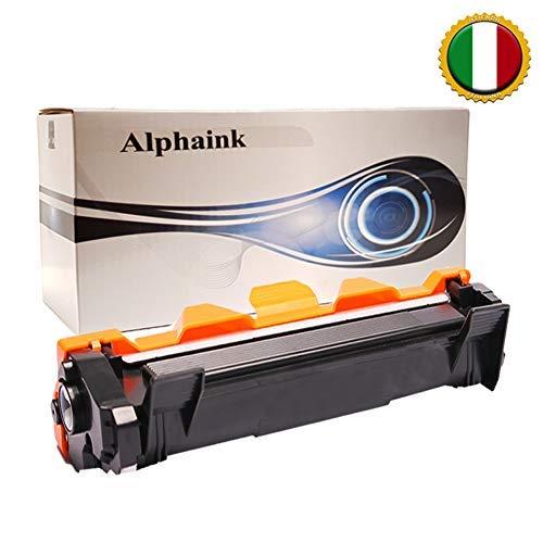 1 Toner Alphaink Compatibile con Brother TN-1050 versione da 1000 copie per stampanti Brother DCP1510 DCP1512 DCP1601 DCP1610W HL1110 HL1112 HL1211W MFC1810 MFC1815 MFC1910
