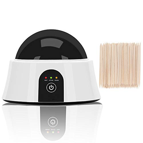 Upgraded Steam Nail Polish Remover Machine Nail Steamer for Gel Nail Polish Removal with 50pcs Wooden Cuticle Pusher Sticks (Not For Dip Powder Nails)