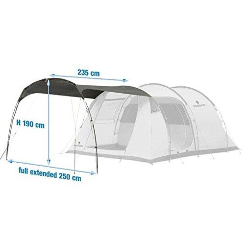 Ferrino Proxes 3/4, Canopy Addizionale per Tenda. Grigio, 3-4 Persone