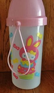 Hello Kitty Colorful Bunny Water Bottle with Strap