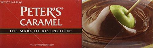Peters Creamy Caramel Sauce, 5 Pound