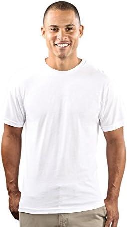 Wholesale Blank Cloths Mens Polyester Sublimation Shirt White Medium product image