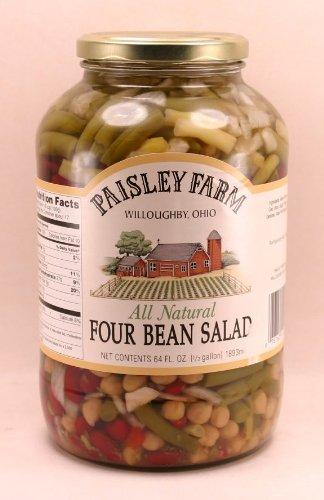 Paisley Farm All Natural Four Bean Salad 64 Fl Oz