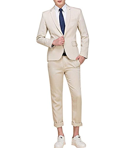 Kenneth Cole REACTION Men's Techni-Cole Stretch Slim Fit Suit Separate Blazer (Blazer, Pant, and Vest), Modern Blue, 44 Regular