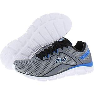 Fila Men's Memory Vernato 5 Running Shoes MONU/Black/EBLE 11.5