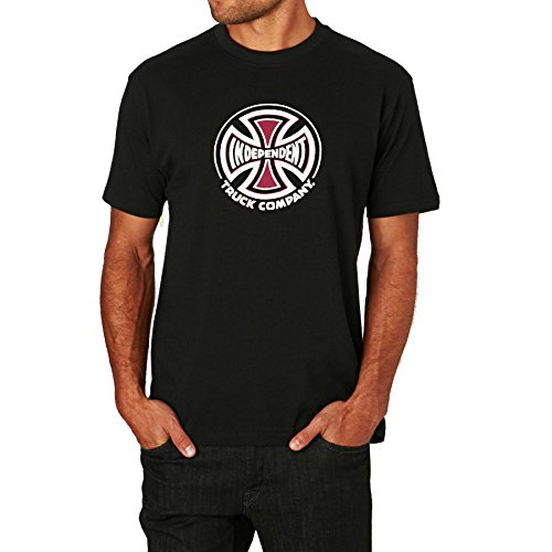 T-Shirt Independent Truck Co Nero (M , Nero)