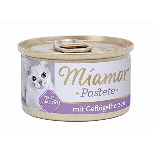 24er Pack Miamor Pastete Geflügelherzen 85g