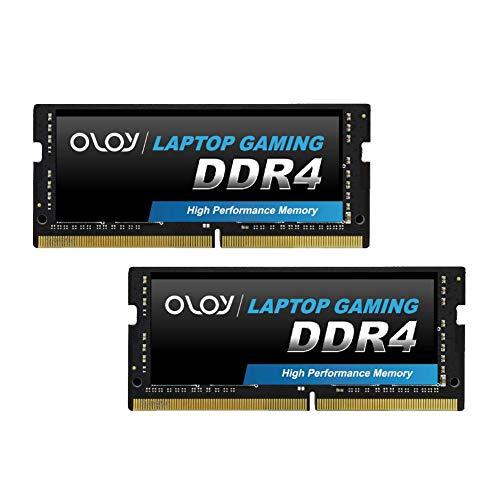 OLOy DDR4 RAM 16GB (2x8GB) 2400 MHz CL17 1.2V 260-Pin Laptop Gaming SODIMM for intel