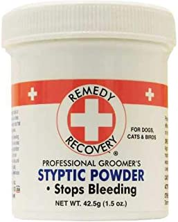 Remedy + Recovery Professional Groomer's Styptic Powder for Pets