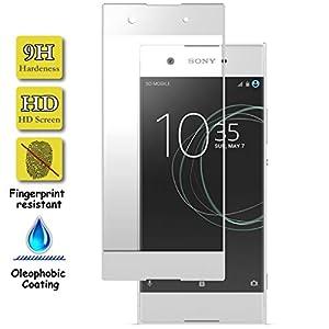 Granadatech® I Cristal Templado para Sony Xperia XA1 Ultra Blanco ...