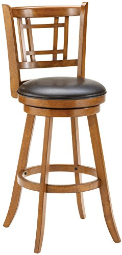 Hillsdale Furniture Fairfox Swivel Counter Height Stool, Oak