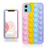 Besoar Color Bubble Fidget Caso per iPhone 12 Mini 5.4' Ragazzi...