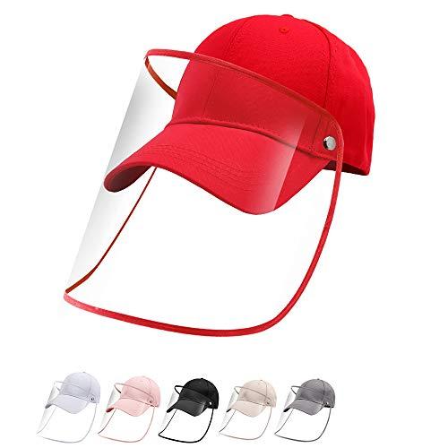 Gorras de Béisbol Rojo Anti-UV Anti-Sol Anti-Polvo