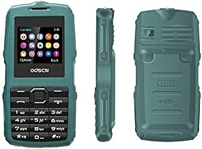Peedeu Rugged Unlocked Cell Phone for Seniors,Shock Proof Dual Sim Unlocked Cell Phones International with 1000mAH Battery for Seniors,Kids,Young People(SOS,Torch, Ebook, Blacklist,FM,Video)