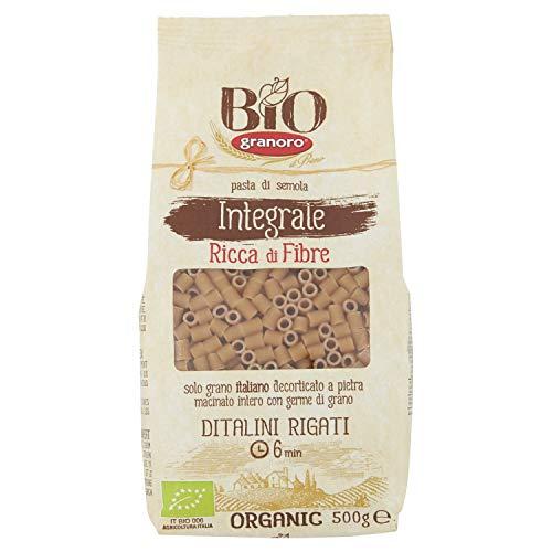 Bio granoro Ditalini Rigati Integrali - 30 g