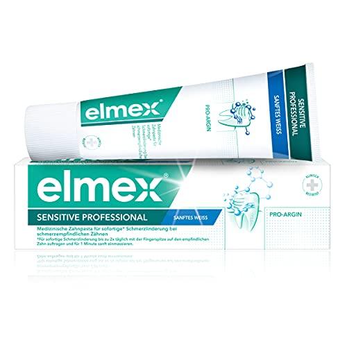elmex SENSITIVE PROFESSIONAL sanftes Weiss Zahnpasta, 75 ml
