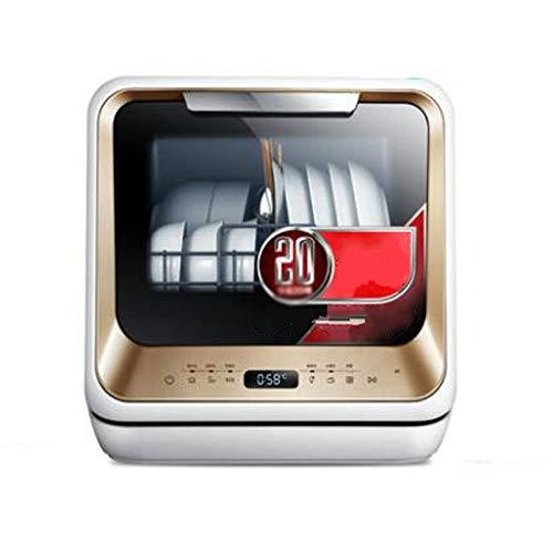 SKREOJF Pequeño portátil Lavavajillas Gratuito a la instalación automática de sobremesa Compacto Lavavajillas Adecuado for Todo Tipo de cocinas