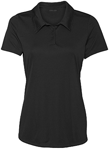 Women's Dri-Equip Golf Polo Shirts Button Golf Polo's in 20 Colors XS-3XL