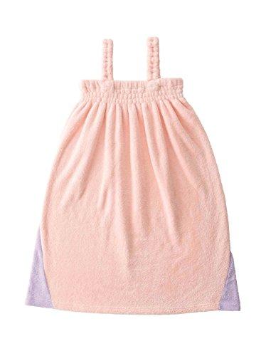 シービージャパン バスローブ ピンク 吸水 速乾 タオル ワンピース マイクロファイバー カラリモア carari