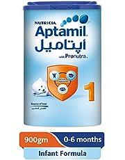 Aptamil 1 Infant Formula Milk, 900g