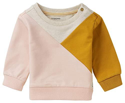 Noppies Baby-Mädchen G Sweater LS Malvern Sweatshirt, Pale Dogwood-P448, 86