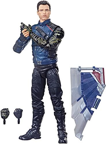 Avengers Hasbro Marvel Legends Series Figura del Soldado del Invierno de 15 cm - Diseño Premium y 3 Accesorios - Edad: 4+