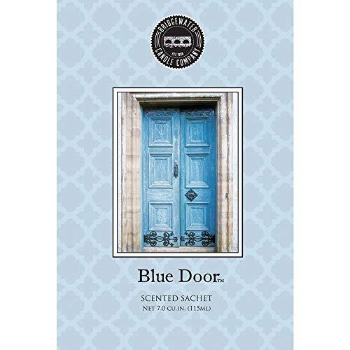 Bridgewater Duftkerze Umschlag Beutel Blau Tür, mehrfarbige,