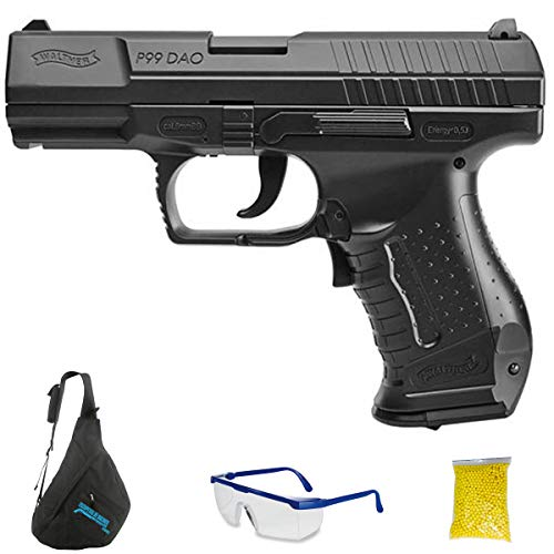 Walther P99 DAO M24 - Pistola de Airsoft Calibre 6mm (Arma Aire...