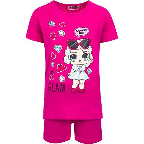 LOL SURPRISE Pijama de manga corta para niña de verano Fuxi 8 años