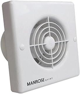 Manrose QF100T - Extractor con temporizador para ducto de 4