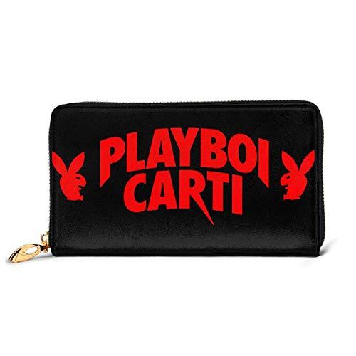 XCNGG Cartera Cartera de Cuero Playboi Carti, Paquete de Tarjetas, Cartera Plegable, Cartera de Moda, Cartera Personalizada Personalizada