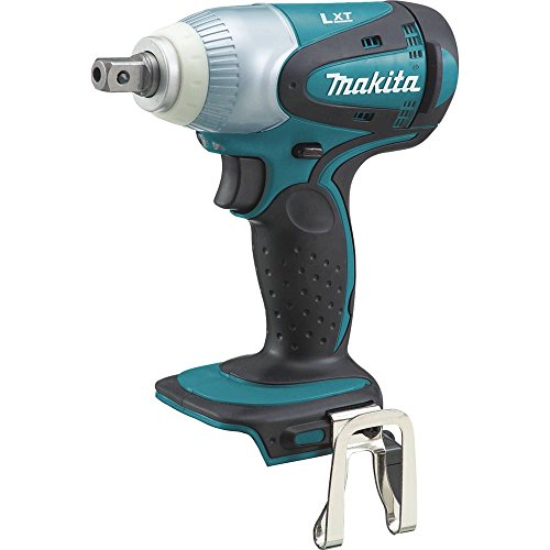 Makita XWT05Z 18V LXT Lithium-Ion Cordless 1/2' Sq. Drive Impact Wrench, Tool Only