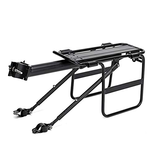 Bike Bicycle Cargo Rack Rear Bike Rack for Back of Bike Carrier Rack with Fender Quick Release Mountain Road Bicycle Rear Racks 110-165 Lbs Capacity Universal
