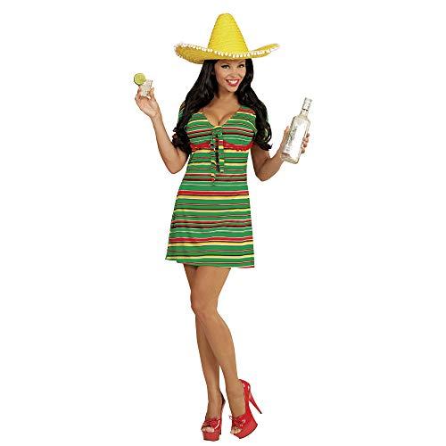 WIDMANN Vestido Nacional lejano Oeste Mexicana Señoras Vestido de Lujo Occidental para Mujer Adultos Traje Traje (Mujeres: 10-12)