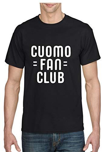 ALLNTRENDS Men's T Shirt Cuomo Fan Club 2020 Graphic Tshirt (XL, Black)