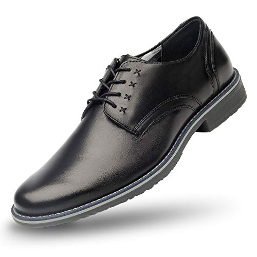 Flexi Jeremy 92401 Zapatos de Cordones Brogue para Hombre, Color Negro, 25.5