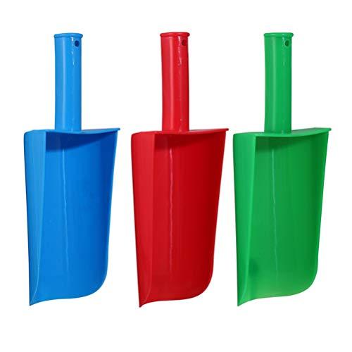 BESPORTBLE 3 Piezas para Niños Juguetes de Pala de Arena Pala de Arena Palas de Plástico Juguete de Arena para Niños Juguetes de Playa Color Aleatorio