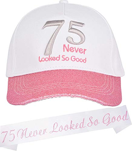 75 Never Looked So Good Hat & Sash Set