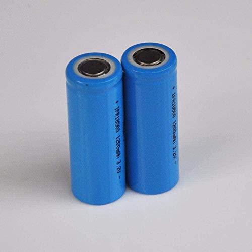 KZNV 3.2V 18500 Rechargeable Lithium Battery IFR LiFePo4 Cell 1200mah for Solar Light e-Bike Power tools-4PCS-6pcs