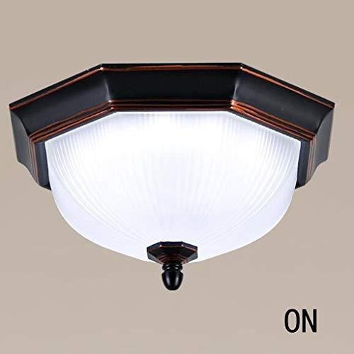 CJH Lampenlicht, Deckenleuchten, Kronleuchter, Balkon Des Hauses Unter Us-Vertrag Aisle Kitchen Led, Lampen Aus Eisen (Zwei Farben),B.